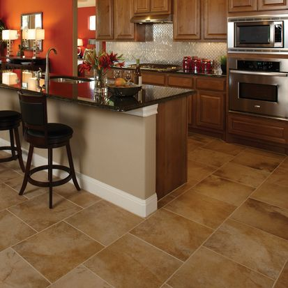 Check out this American Olean product: Photo features Oro Miele 18 x 18 in a