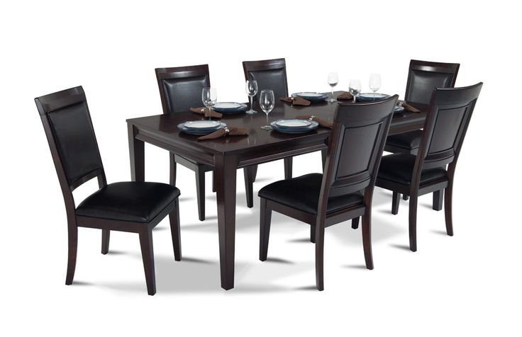 17 best ideas about discount dining room sets on pinterest upholstered dining room chairs. Black Bedroom Furniture Sets. Home Design Ideas
