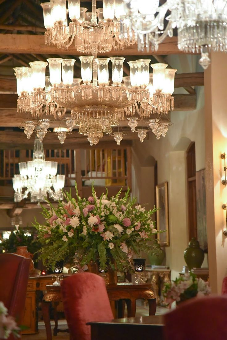 The interior of La Residence one of the most luxurious hotels in the South African Winelands