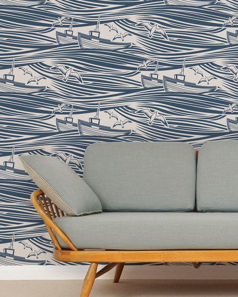 Love this wallpaper. Love it more since it has this name: Whitby - Mini Moderns