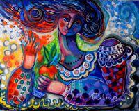 Rebecca de Cachard : Eve et sa pomme d'amour