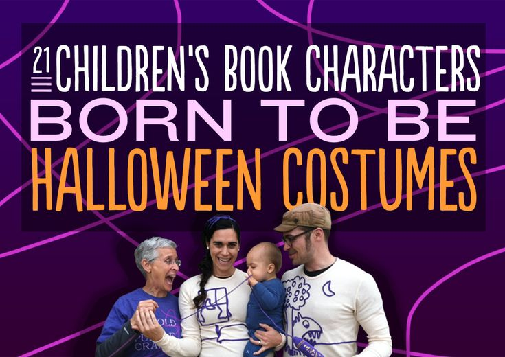 21 Children's Book Characters Born To Be Halloween Costumes