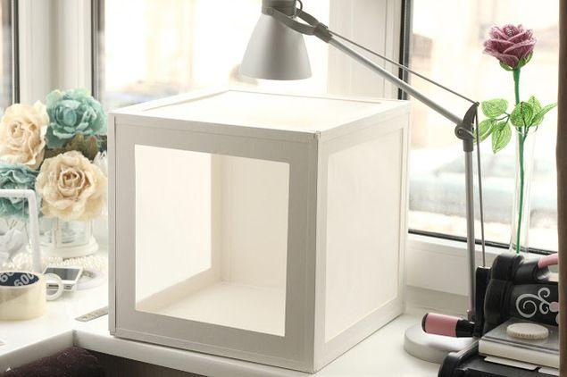Домашняя бюджетная фотостудия для предметной съёмки - Ярмарка Мастеров - ручная работа, handmade