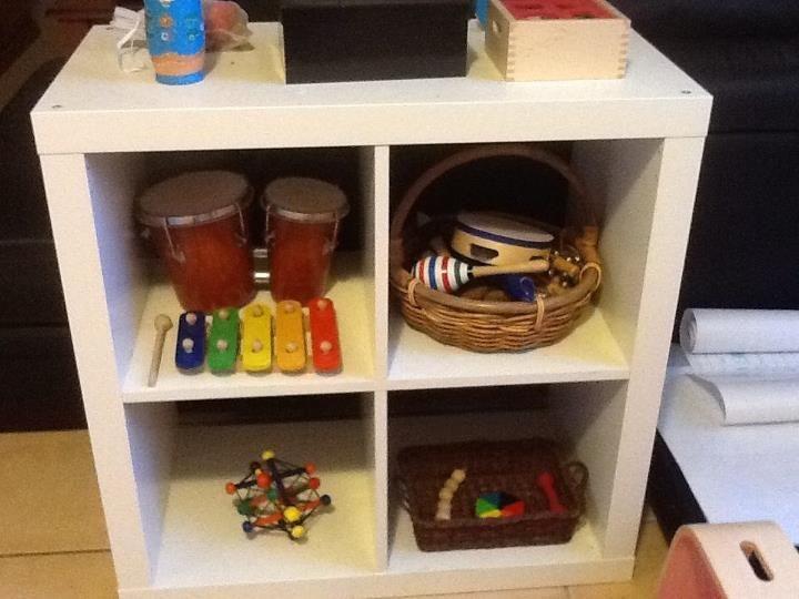 montessori home playroom toddler toys baby shelves