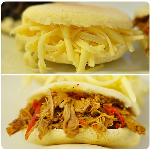 ... pulled pork venezuelan style arepas with pulled pork arepas rumberas