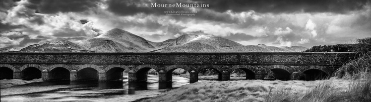 12 arches bridge in ir mourne mountains newcastle co.down northern ireland