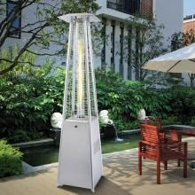 Napoleon Bellagio 31,000 BTU Propane Gas Decorative Patio Heater    Stainless Steel   PTH31GTSSP