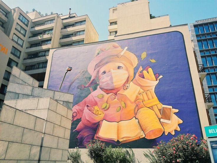 Día IV | Day IV  A las afueras del Metro Bellas Artes Santiago de Chile