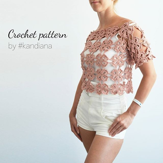 Crochet top pattern. Size XXL-L. Skill level: beginner🎈 More photos by link in bio 🎈