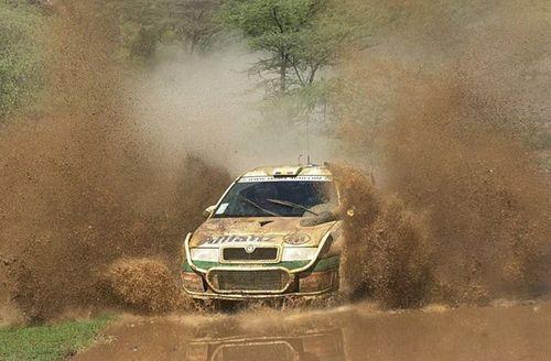 Skoda Octavia WRC Rally Car