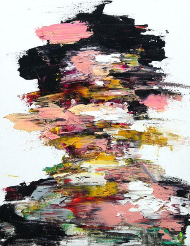 L'artiste coréen Shin KwangHo réalise des peintures au fusain et à la peinture à l'huile. Ses portraits aux figures absentes, dont on semble avoir voulu détruire le vis