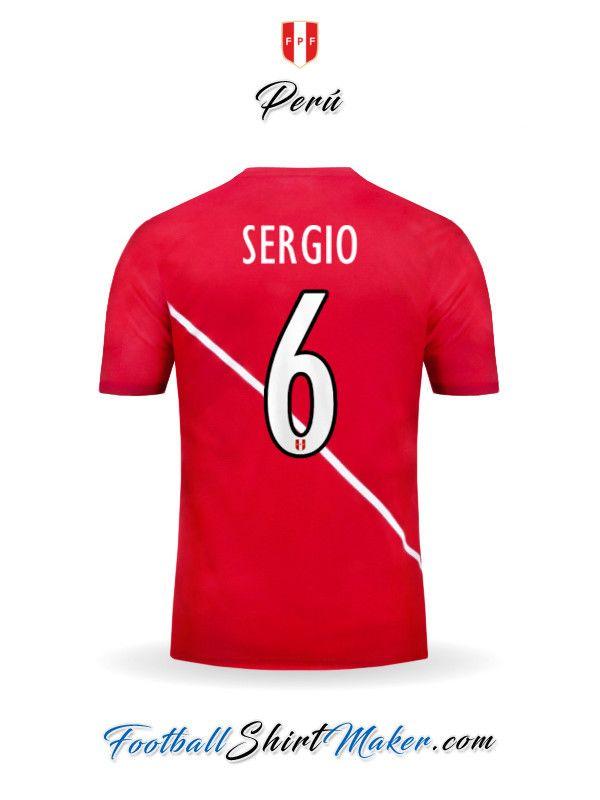 Camiseta Peru 2015/2016 Visita Sergio 6
