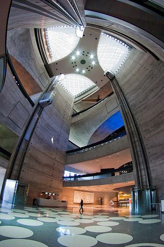 Mercedes-Benz Museum Entrance Hall #2 by iPhotograph, via Flickr
