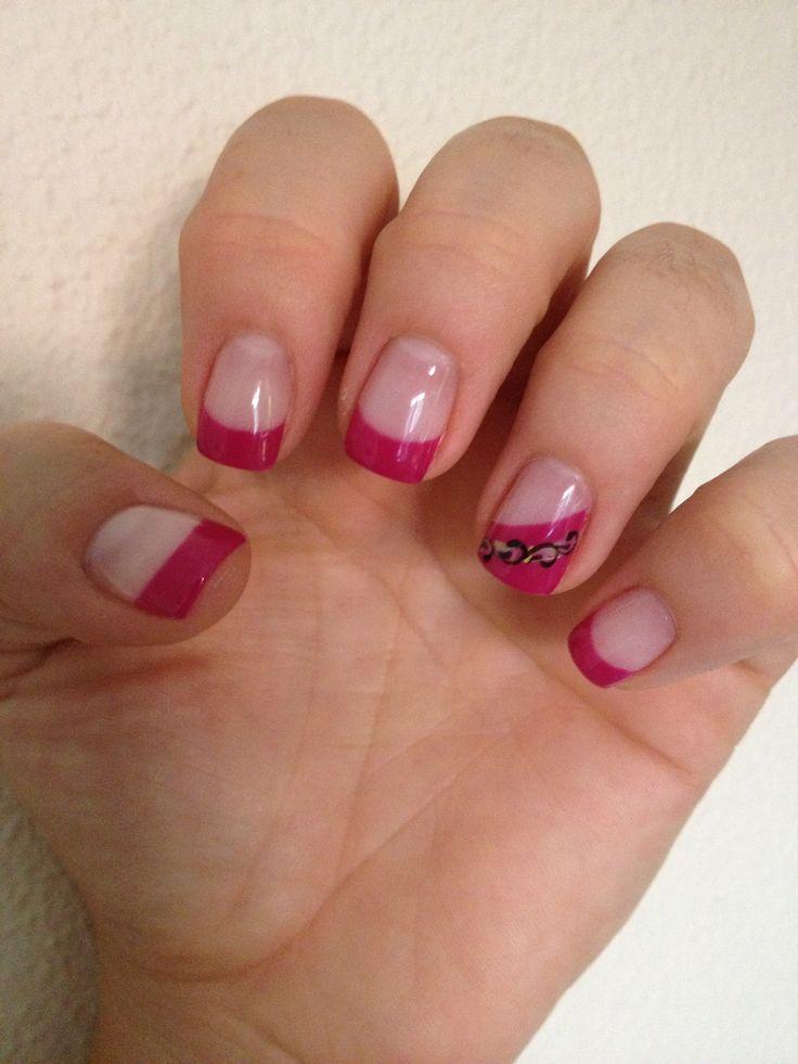 Em tons rosa