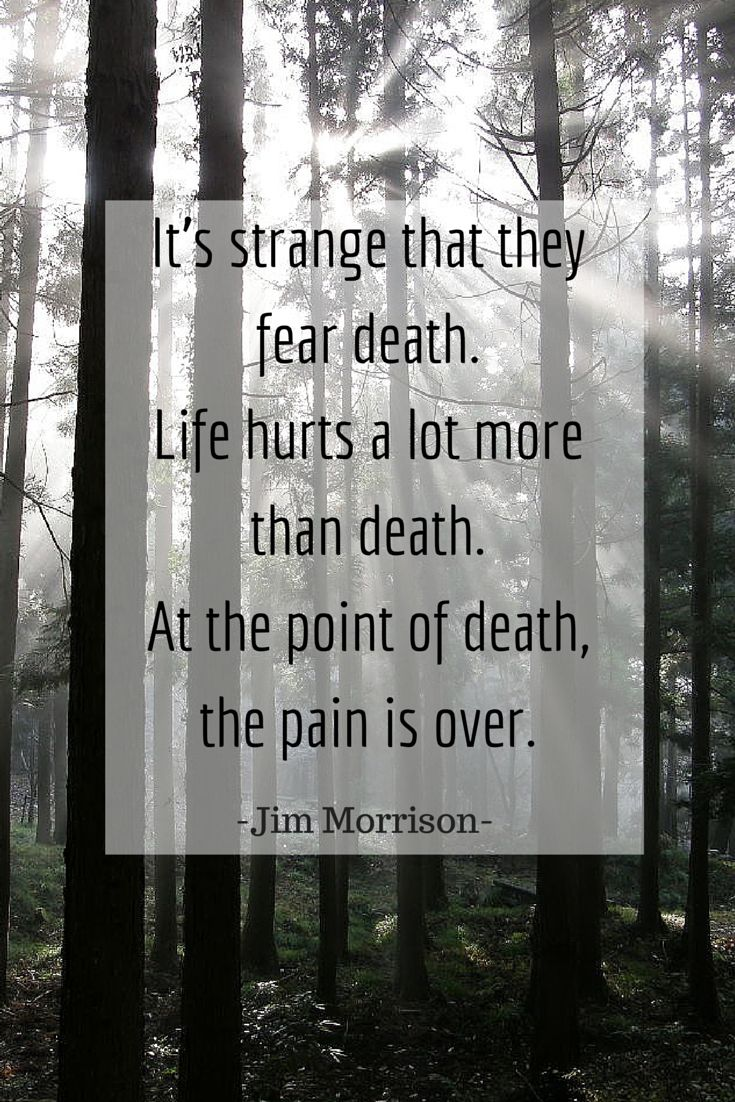 inspirational death quote