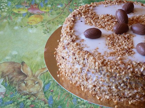 Tarta de Zanahoria y Almendra