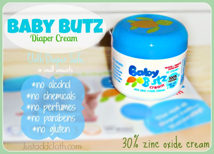 Baby Butz Diaper Cream with Zinc Oxide » Just Add Cloth Review