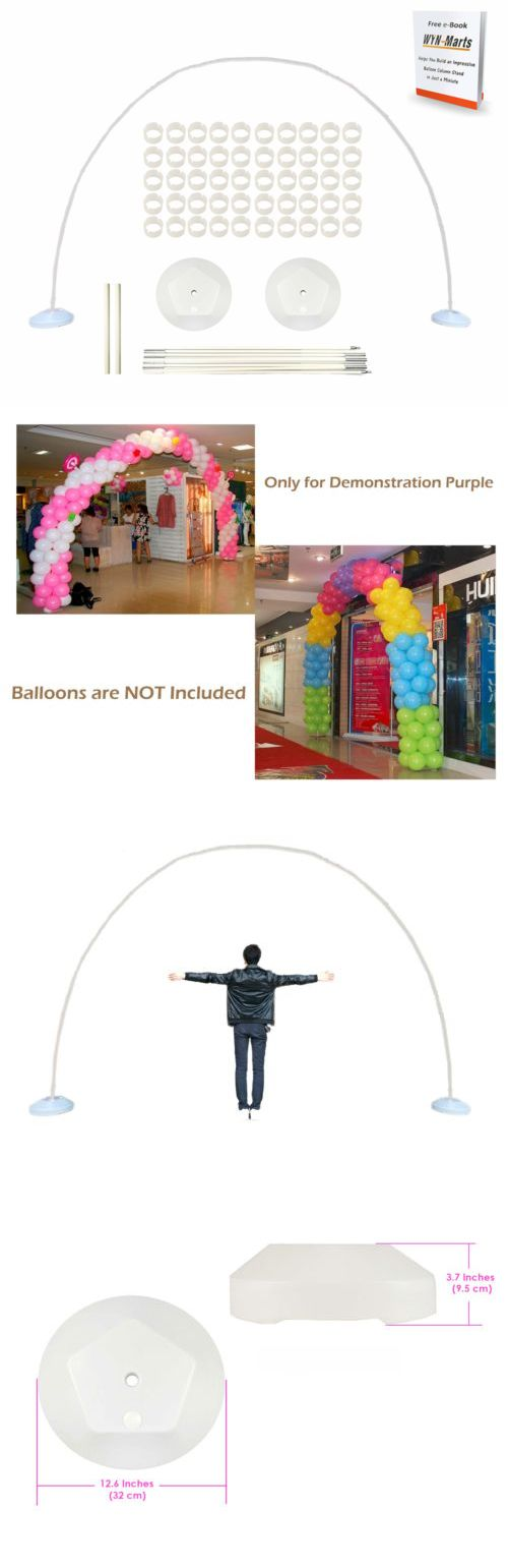 Best 25 balloon arch frame ideas on pinterest for Balloon arch frame kit party balloons decoration