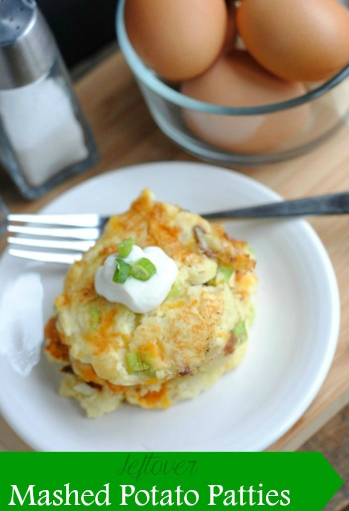 Got leftover mashed potatoes? Try prepping them a new way and make these mashed potato patties.