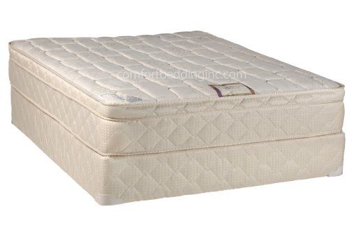 continental sleep mattress pillow top fully assembled mattress and box spring todayu0027s dream collection twin size