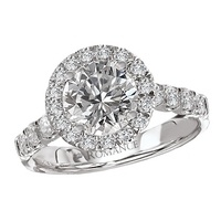 Elegant 1.50 CT Diamond engagement ring by Aaland Diamond Jewelers
