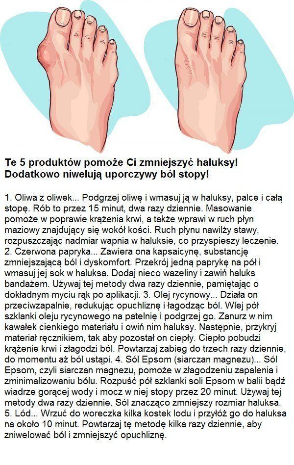 Te 5 produktów pomoże Ci zmniejszyć haluksy! Dodatkowo niwelują uporczywy ból stopy!!!
