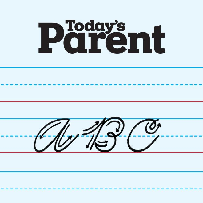 Printable worksheets to teach your child how to write in cursive