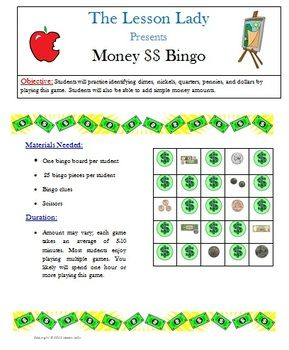 17 best images about special ed money on pinterest coins money worksheets and student. Black Bedroom Furniture Sets. Home Design Ideas