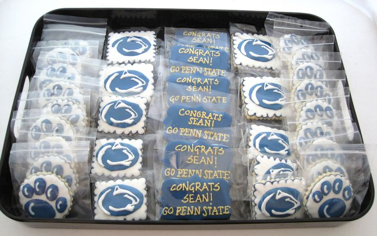 Penn State Wedding Gifts: 101 Best PSU Cakes And Cookies Images On Pinterest