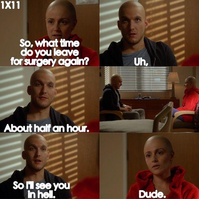 "#ChasingLife 1x11 ""Locks of Love"" - Leo and April"