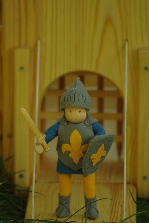 Knight Waldorf doll // Waldorf doll for boys // Play doll for boys