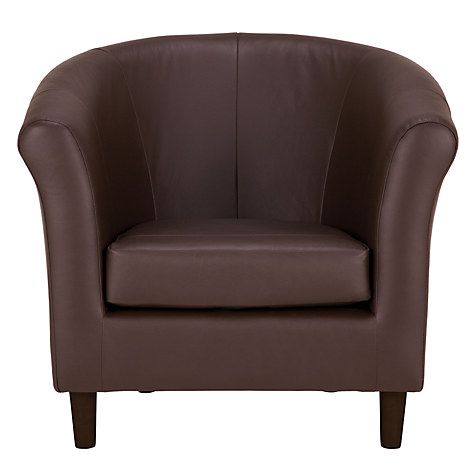 Buy John Lewis Juliet Leather Armchair, Denver Cedar Online at johnlewis.com