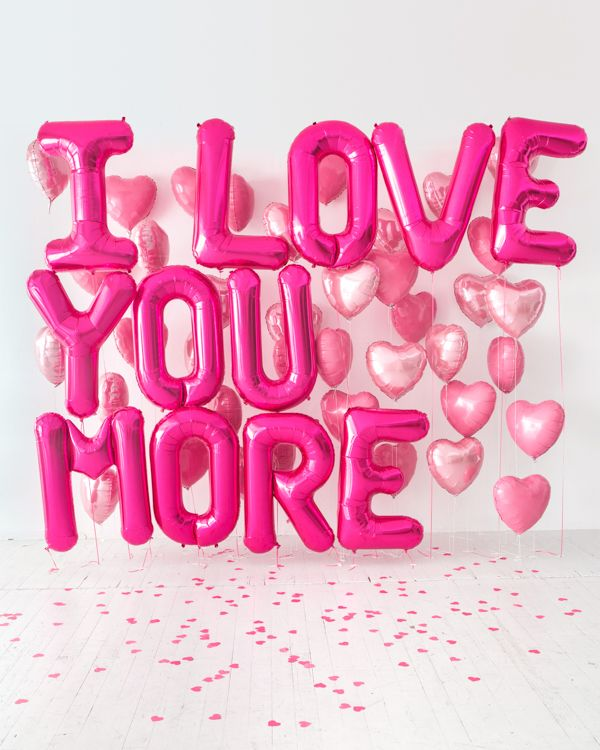 Giant Balloon Love Letter DIY | Oh Happy Day! #balloons #diy #partydecor