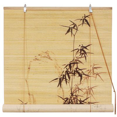 Perfect Shop AllModern for Oriental Furniture Bamboo Design Bamboo Roller Blind Great Deals on all products