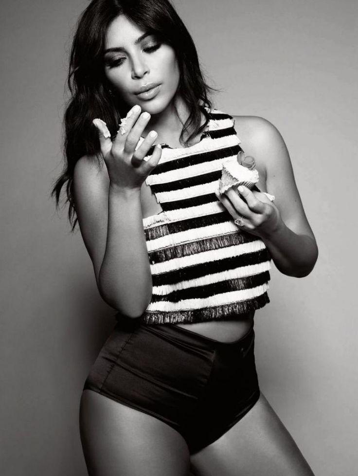 Kim Kardashian - Elle Uk Magazine Photoshoot, January 2015 : Global Celebrtities (F) - FunFunky.com