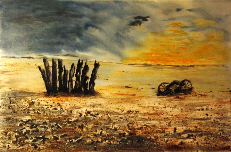 The Empty Cart - Artwork Overview - Artinvesta by Judy La Monde