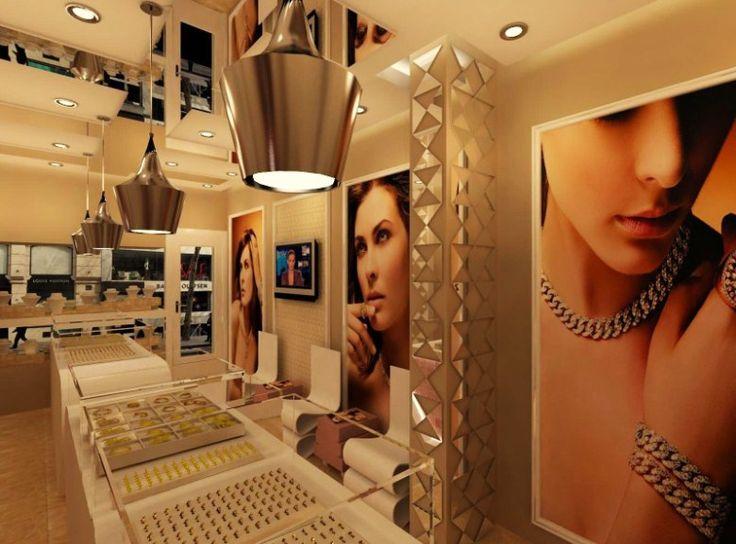 Jewelry Design, jewelry decoration , jewelry interior design (11)