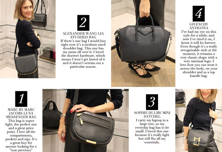 The 4 bags you'll love forever | Wardrobe ICONS http://wardrobeicons.com/the-icons-update/shopping-list-forever-bags-harvey-nichols-2/