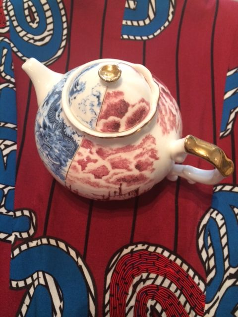 On the third day of Christmas Trelise Cooper Wellington gave to me……………………..  Two special treats for under my Christmas tree……………………..  The Cooper 'Tinker Sailor' jacket $599 and the Seletti teapot $180 both at HALF PRICE