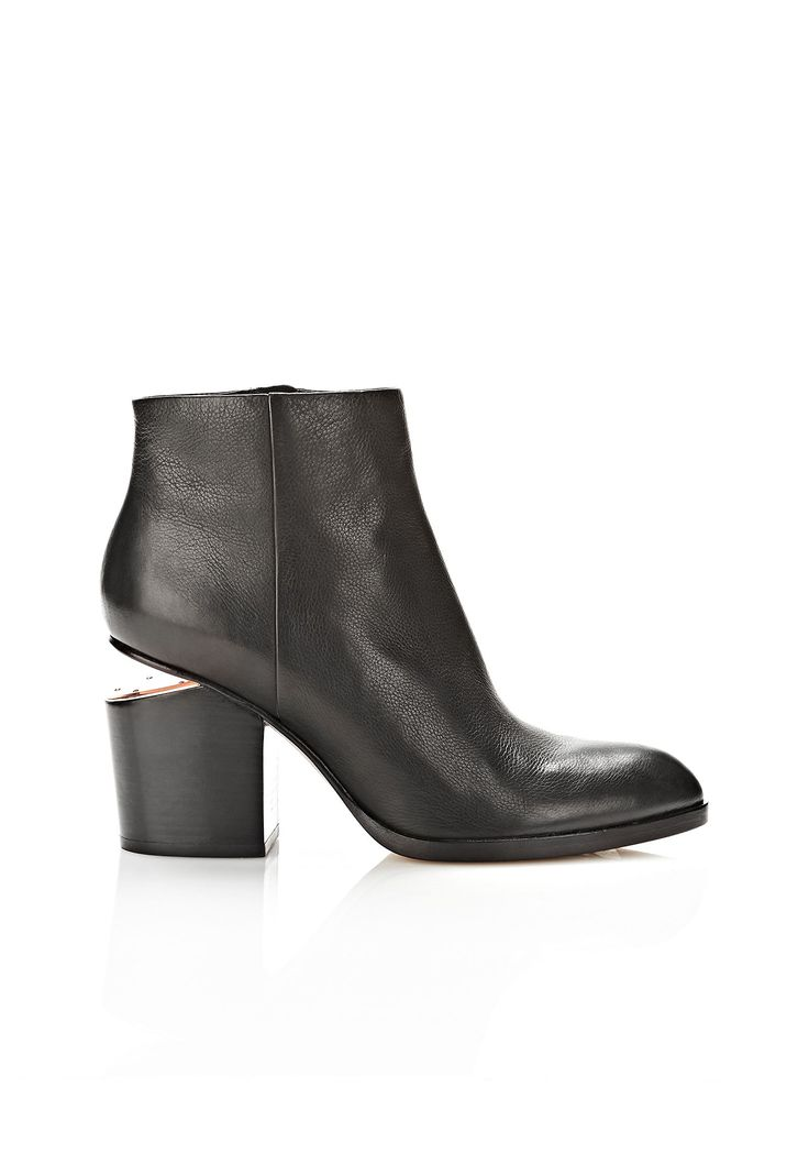 GABI BOOTIE WITH ROSE GOLD | Boots | Alexander Wang Official Site