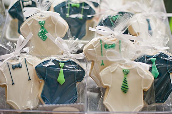 Little Man Themed Baby Shower - note to J, check out this theme for Leah's shower, adorable... What do you think?