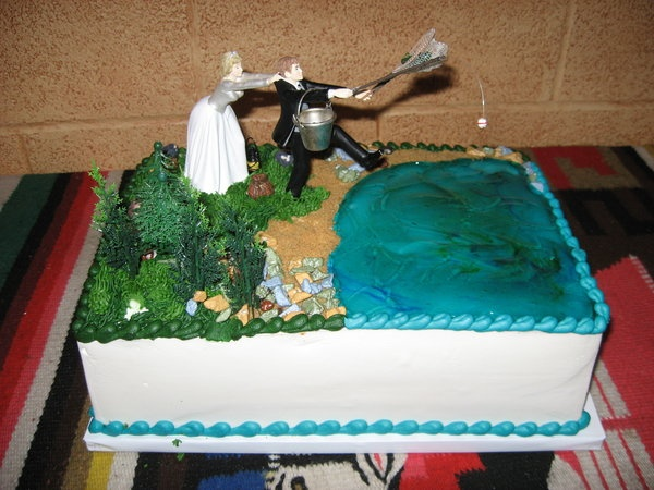 Cake, Dinner, Rehearsal, Fishing Wedding Ideas Pinterest