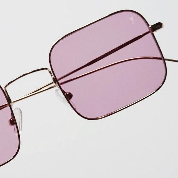 Pink sunglasses 70s Eyepetizer