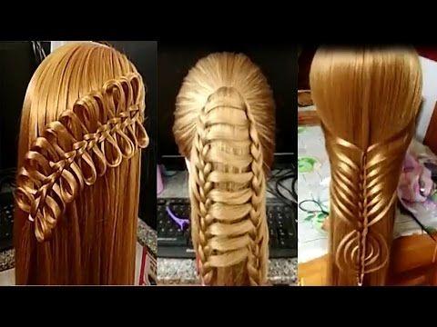 Como Hacer Peinados Para Niñas 2017/Peinados para cabello/Peinados Faciles rapidos/Trenzas Faciles79 - YouTube