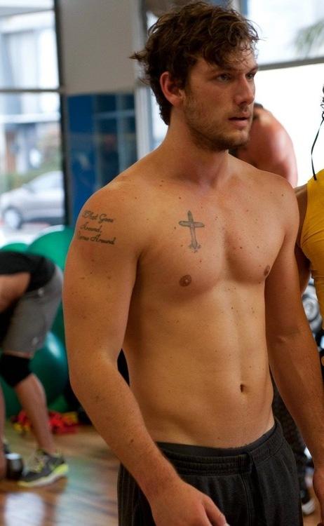 Alex Pettyfer --his tattoos so hot #coupon code nicesup123 gets 25% off at  Provestra.com Skinception.com