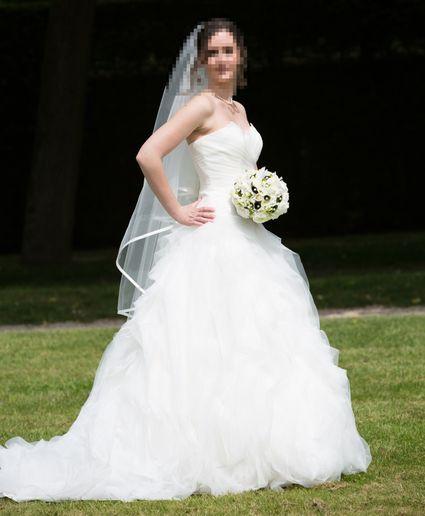 Robe de mariée bustier Pronovias Benicarlo 2013 Taille 36 doccasion