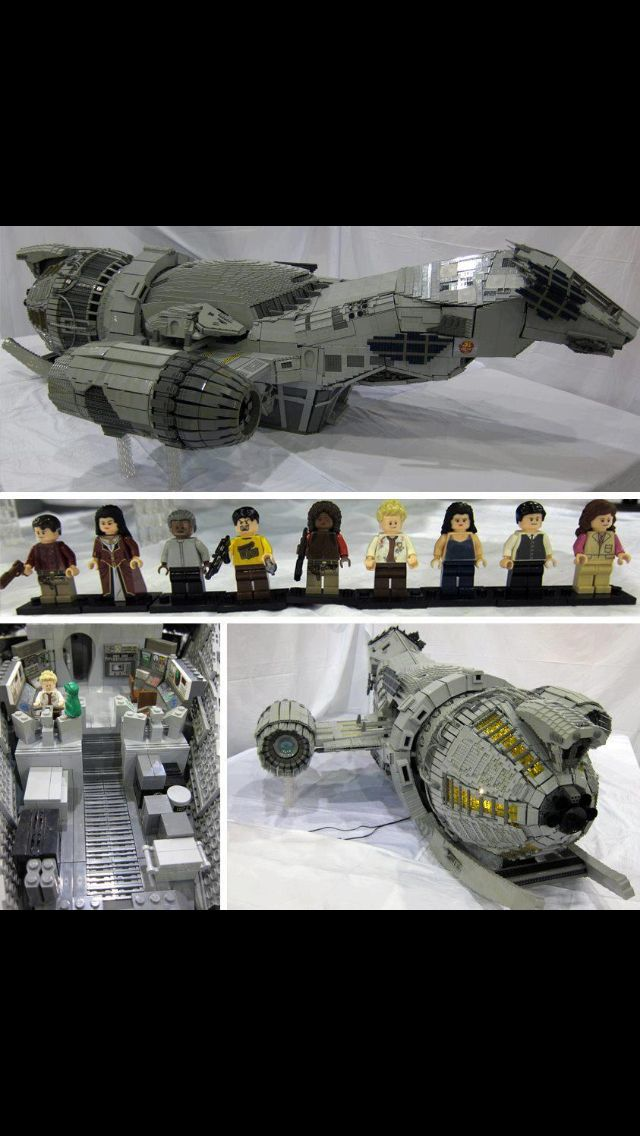 Best Lego set ever.. Firefly.  That would have been awesome haha