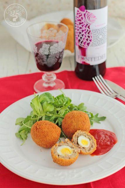 Cocinando entre Olivos: Huevos de codorniz escoceses. Receta paso a paso