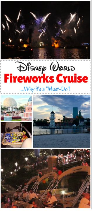 Why you should consider a Disney Fireworks Cruise in your Disney World trip planning! Here are tips on what is included in this fabulous experience, along with a video from Epcot IllumiNations fireworks cruise. Kids and adults will love this experience.