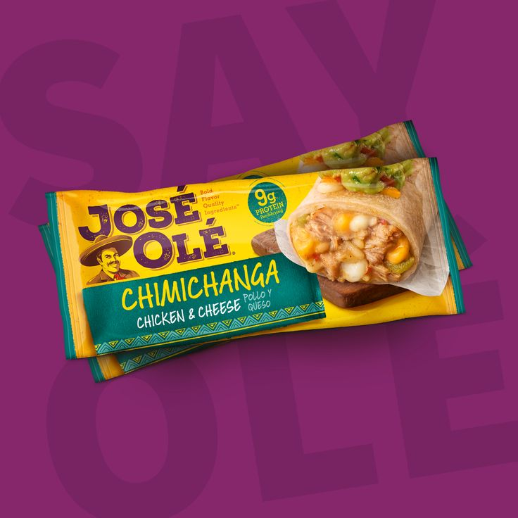 #JustSayOlé with a delicious #chimichangas